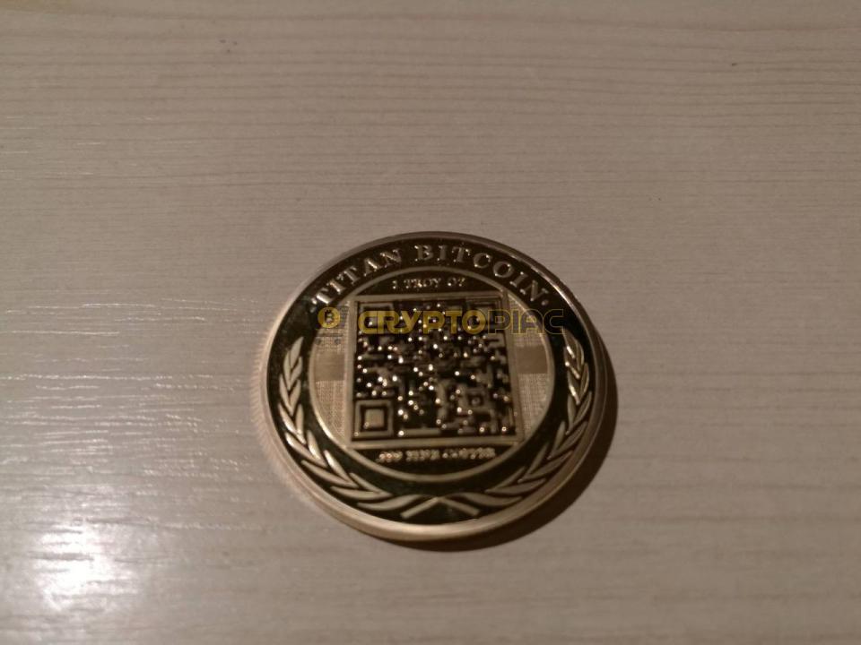 bitcoin ezüst érme