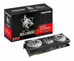 PowerColor Radeon Hellhound RX 6700XT 12GB GDDR6 - 14db - [netto 346.456 bruttó 440.000] - SZÁMLA +