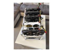 Bányagép 5 kártyával (GTX 1070/1070Ti) összeállítva eladó!