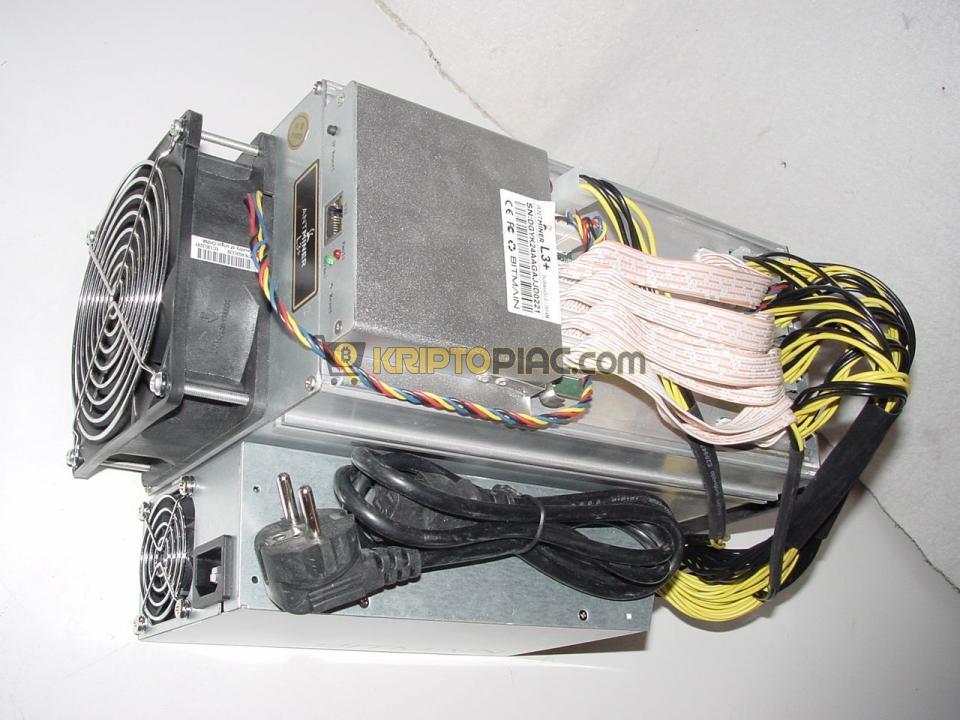 Bitmain Antminer L3+ 500MHS bánya eladó litecoin dogecoin - 8/10