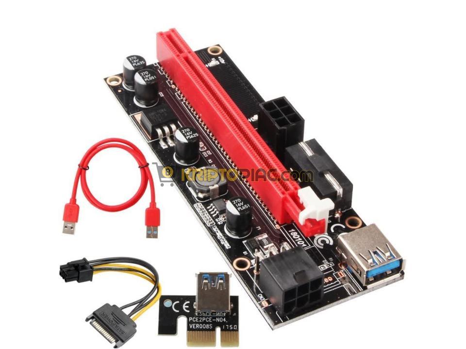 ÚJ VER009 riserek 60cm USB-vel +AZONNAL raktárról - 4/4