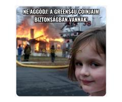 Ha hiszed, ha nem! Új magyar Kriptó - Greens4U (G4U) - Kép 6/12