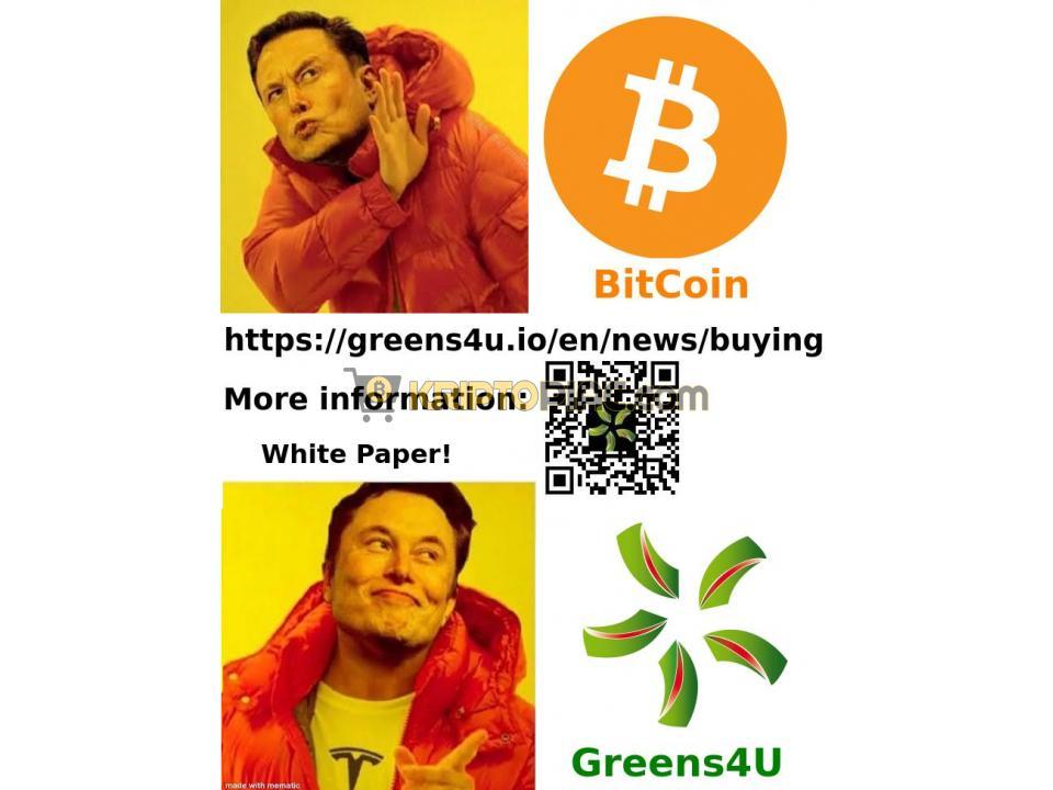 Ha hiszed, ha nem! Új magyar Kriptó - Greens4U (G4U) - 11/12