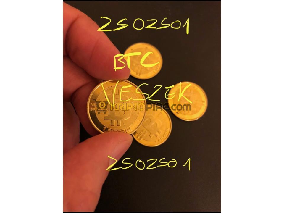 BTC és egyéb cryptót veszek.. - 1/1