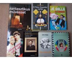Könyvek eladók