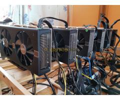 2DB mining  rig eladó ! 6 x RX580 nitro+ 8GB 182.5mhs !!!!