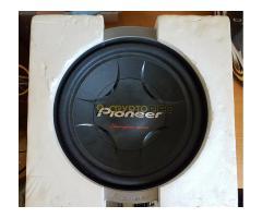Pioneer ts-w257f mélyhangszóró