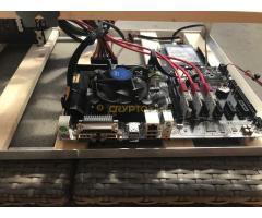 3 kártyás Asus Radeon RX570-es bányászrig (1.5 év gari) ALKUKÉPES !!!