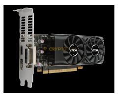 Új Msi Geforce GTX 1050TI 4GT LP