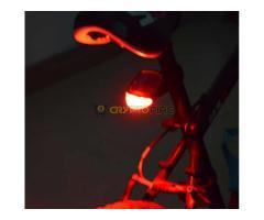Napelemes hátsó kerékpárlámpa