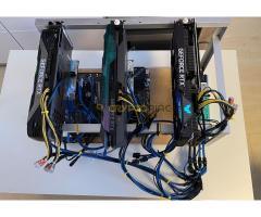 RTX 3080 stabilan működő rig eladó