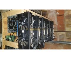 6x Sapphire RX 570 nitro plus oc 8Gb rig